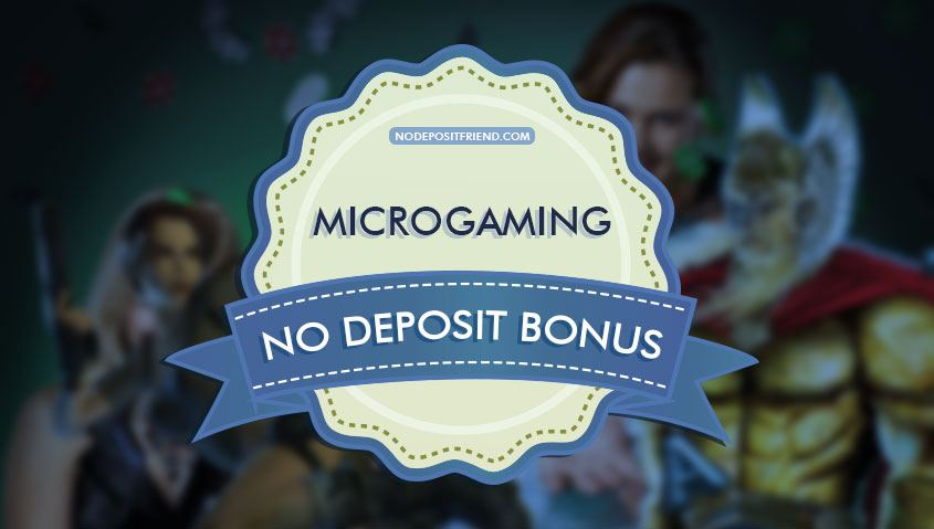 online casino no deposit microgaming