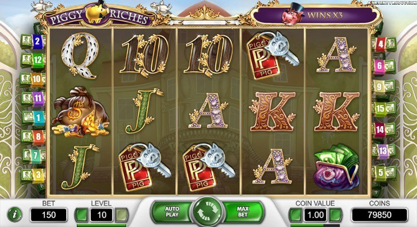 Play Piggy Riches for Free
